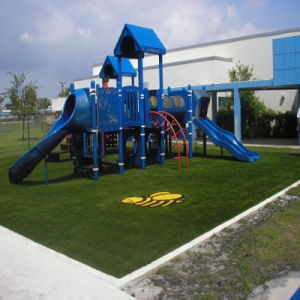 W Shape Monofilament Yarn Artificial Grass Manufacturer pictures & photos