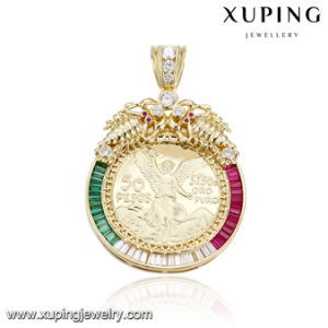 33125 Fashion Imitation Jewelry Fancy 14K Gold Plated Pendant for Christmas Gift pictures & photos