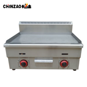 Stainless Steel All Flat Plate Gas Grill Griddle pictures & photos