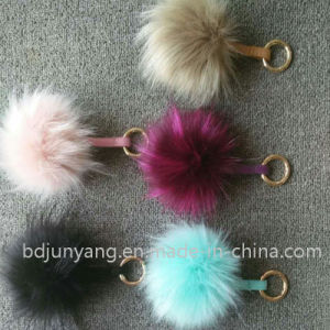 Fluffy Fashion Fake Racoon Fur Ball for Hat pictures & photos