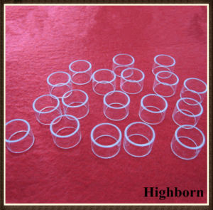 Polishing Transparent Silica Quartz Rings Flange for Smoking Product pictures & photos
