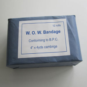 Guaze Bandage Made by Bp 100% Cotton Gauze pictures & photos