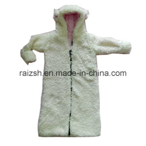 Thick Cashmere Hooded Kids Coat pictures & photos