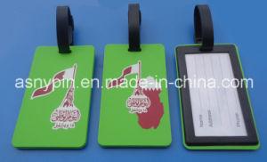 Qatar Flag Bag Tag, Qatar National Day Luggage Tag pictures & photos