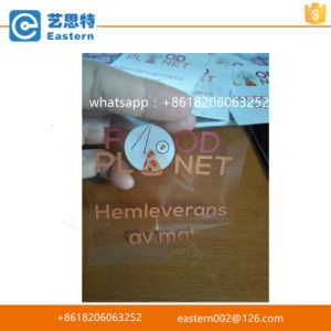 Customized Transparent Adhesive Label Stickers pictures & photos