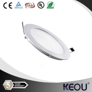 UL SAA 12W SMD2835 Round LED Spot Panel Light pictures & photos