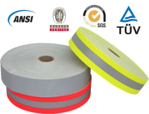 High-Quality Reflective Tape with Certificate (EN20471/ANSI107) pictures & photos