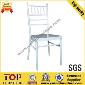 Aluminum Seat Stacking Chiavari Chair for Wedding pictures & photos