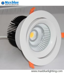 9-50W Triac 0-10V Dali Dimmable Recessed LED Downlight pictures & photos