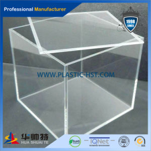 Hot Sale Clear Sport Shoes Acrylic Display Boxes pictures & photos