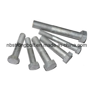 Hex Head Cap Screw ANSI/ASTM/ASME Hex Bolt with HDG pictures & photos