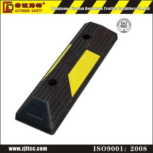 Car Parking Stopper Wheel Stop Truck Rubber Wheel Stoppers (CC-D14) pictures & photos