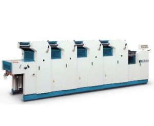 Four Colors Offset Press Machine/Printing Machine (HS447) pictures & photos