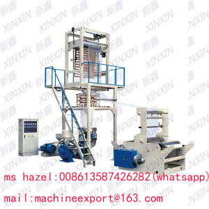 Xinxin Brand PE Film Blowing Machine Fold Width 800mm pictures & photos