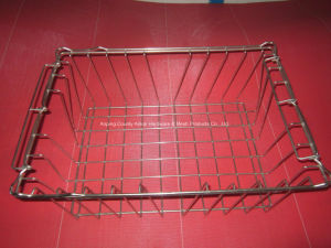 Stainless Steel Welded Wire Mesh Basket pictures & photos