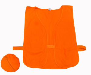High Visibility Outdoor Safety Vest Without Reflective Tape pictures & photos
