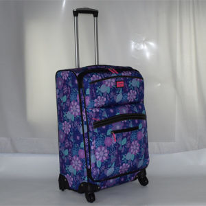 New Printing Design Polyester Luggage Set pictures & photos