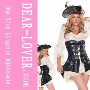 Sexy Caribbean Adult Womens Pirate Costume pictures & photos