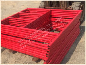 W Lock Type Powder Coated Scaffolding Frames pictures & photos