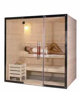 Ls Series Sauna Room with Sauna Heater pictures & photos