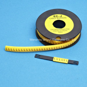 Flat & Circular Cable Markers (PVC) pictures & photos