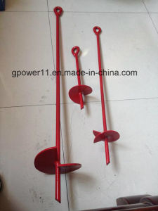 Helical Ground Screw Pole Anchor pictures & photos