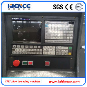 CNC Pipe Threading Lathe Machine Cqk220 pictures & photos
