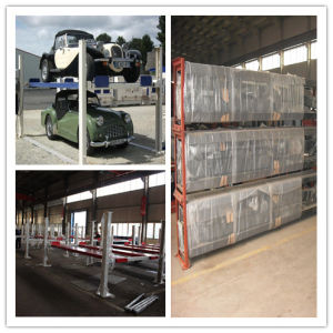 3700kgs Four Post Car Lift with Ce (DFP608) pictures & photos