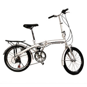 "20"" Folding Bike 6 Speed Sport Bicycle Fold Silver School Sports pictures & photos"