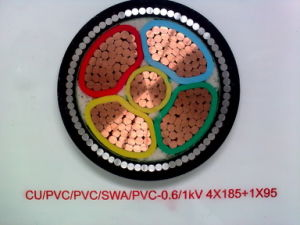 3.6/6kv Copper Core XLPE Insulated Cable pictures & photos