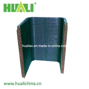 Air Conditioning Copper Tube Aluminium Fin Heat Exchanger pictures & photos