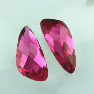 Dz-3130 7.5*18mm Rose Crystal Pendant Stone pictures & photos