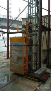 Special Tower/Tube/Underground Construction Hoist From Chinese Factory pictures & photos