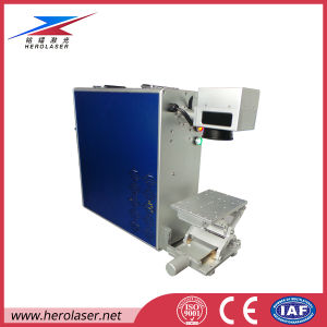 20W 30W 50W LED Bulbs Laser Marking Laser Printing Machine with Ipg pictures & photos