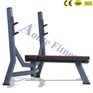 Quality Warranty Olympic Flat Workout Weight Bench pictures & photos