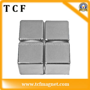 Block Rare Earth NdFeB Magnet with SGS