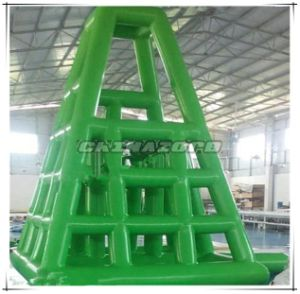 New Arrival Full Green Color Inflatable Lifeguard Tower Water Park Games