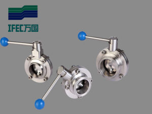 Df Sanitary Manual Butterfly Valve pictures & photos