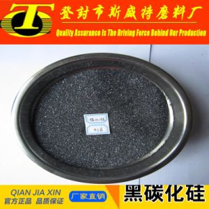 Sic 97.8% Black Silicon Carbide /Ferro Silicon Carbide for Coated Abrasives pictures & photos