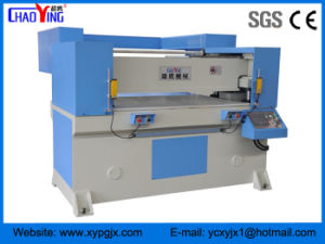 Precision Four Column PLC Floor Material Hydraulic Cutting Press pictures & photos