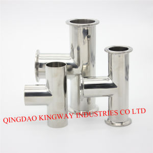 Stainless Steel Sanitary DIN Clamp Tee pictures & photos