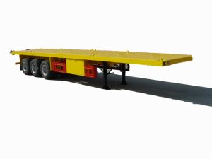 2 Axles 40ft and 2X20ft Container Semitrailer pictures & photos