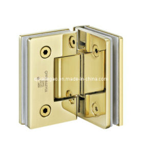 (KTG-1003) PVD-90 Degree Glass Hinge/Glass to Glass Glass Hinge pictures & photos