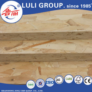 Pmdi Formaldehyde Free Glue OSB From China Luli with Dieffenbacher Line pictures & photos