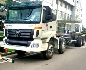 Hot Sale-Foton Auman 8X4 Truck Chassis Euro III pictures & photos