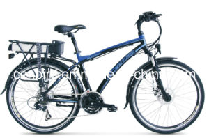Mountain Electric Bike with Rear Rack CB-26mt03 pictures & photos