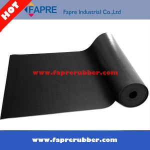 Economy Flame Retardant Industrial Cr Chloroprene Neoprene Rubber Sheet Roll pictures & photos