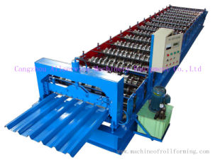 Metal Cold Roll Forming Machine for Wall/Roof Panel (35-125-750)