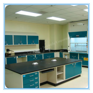 OEM Service Steel Skin Care Lab Bench Furniture (HL-QG-L007) pictures & photos