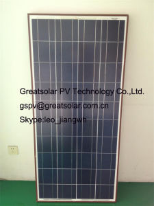 150W Poly Crystalline Solar Panel Modules Made in Nanjing, Jiangsu, China pictures & photos